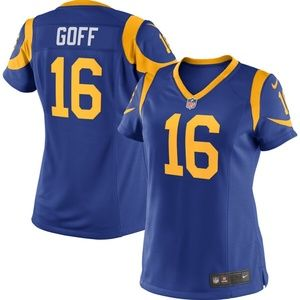 Women's Los Angeles Rams Jared Goff Jersey